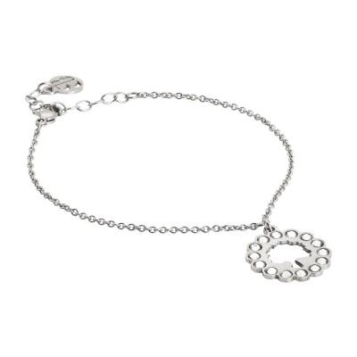Bracelet with tree of life and Swarovski charm