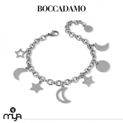 Chain bracelet with star charms
