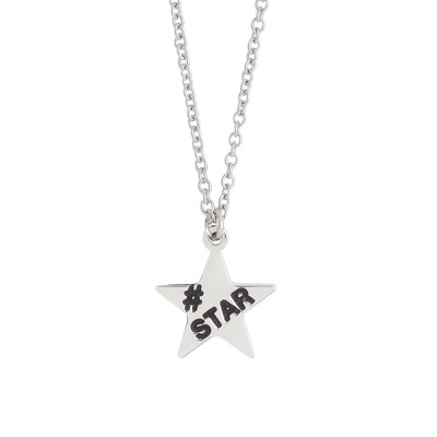 Necklace with star charm