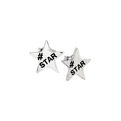 Lobe Earrings with Star