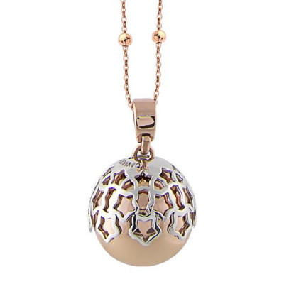 Necklace with sound pendant and the tunnel of stars