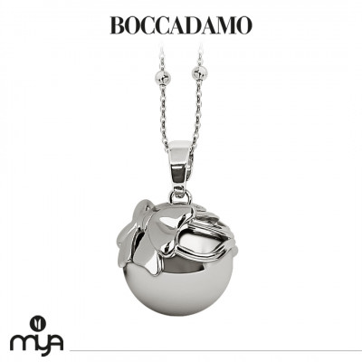Necklace with sound pendant and cup with bow