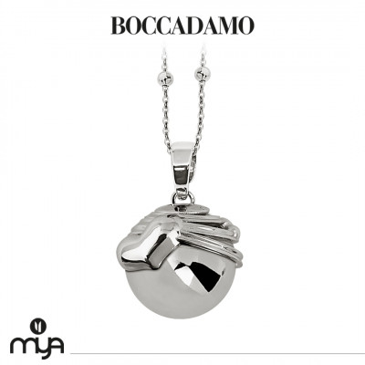 Necklace with sound pendant and cup with heart