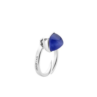 Ring with tanzanite crystal