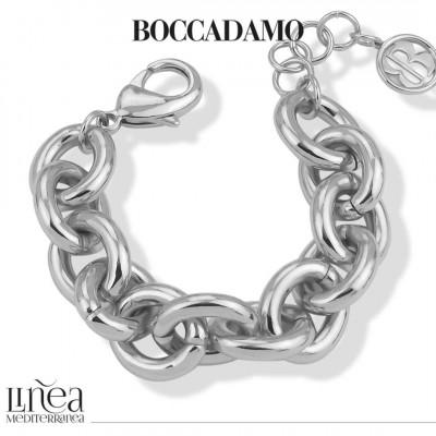 Large silver chain bracelet