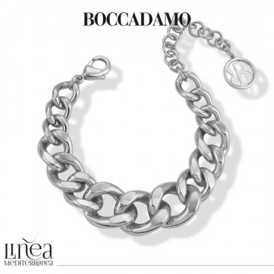 Silver degraded grumette bracelet