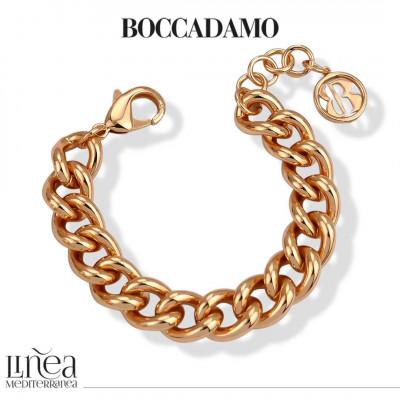 Pink Medium Curb Bracelet