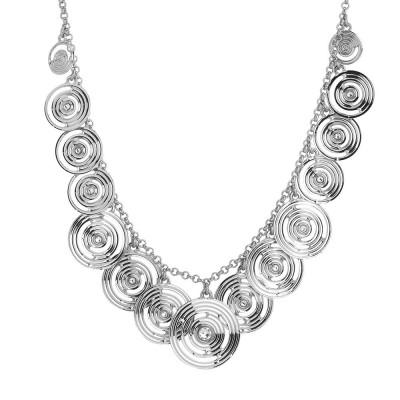 Necklace with charms degradèe Swarovski