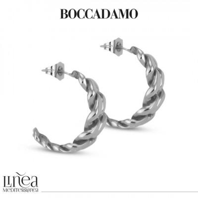 Silver Curb Earrings