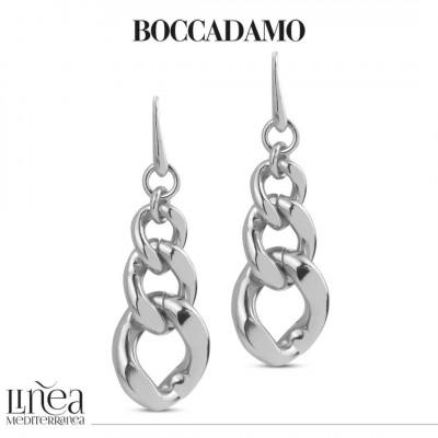 Silver degraded grumetta earrings