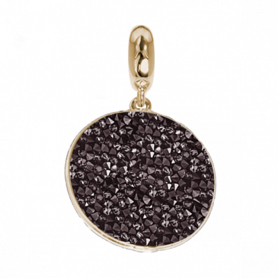Charm with carpet Swarovski red magma black
