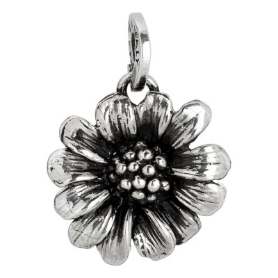 Charm with large daisy