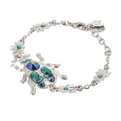 Bracelet with central scarab and of different sizes