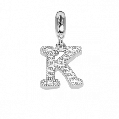 Charm with the letter K in zircons